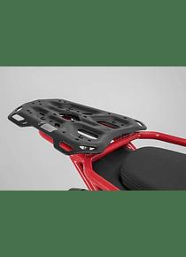 ADVENTURE-RACK Black. Moto Guzzi V85 TT (19-).