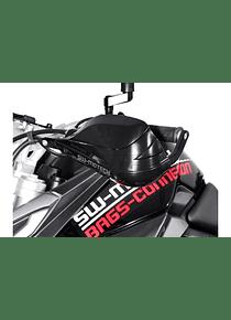 BBSTORM handguard kit Black. Triumph Tiger 800/1200.