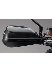 BBSTORM handguard kit Black. KTM 1290 Super Duke R (14-).
