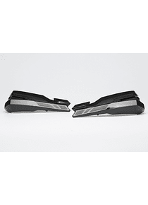 KOBRA handguard kit Black. Ducati Scrambler models.