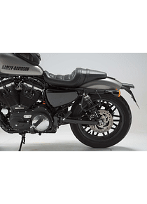 SLC side carrier left Harley Sportster models (04-).