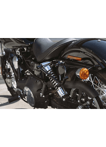 SLC side carrier left Harley Dyna models (09-17).