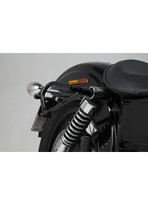 SLC side carrier right Harley Dyna models (09-17).