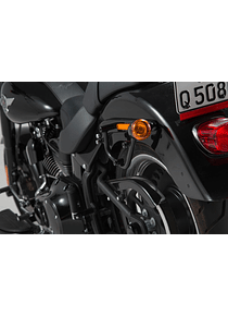 SLC side carrier left Harley Davidson Softail models.