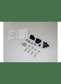 Adapter kit for carrier 2 pcs. For Givi/Kappa Monokey cases.