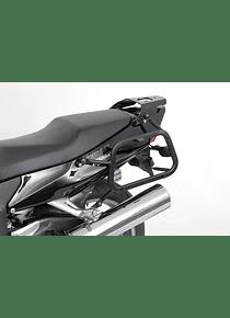 EVO side carriers Black. Honda CBR 1100 XX Blackbird (99-07).