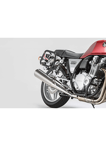 EVO side carriers Black. Honda CB 1100 / EX (12-16).