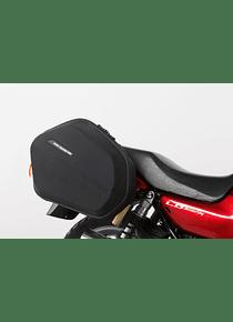 EVO side carriers Black. Honda CB 750 (92-03).