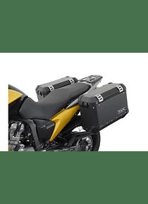 EVO side carriers Black. Honda XL 700 V Transalp (07-12).