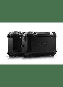 TRAX ION aluminium case system Black. 45/45 l. Honda XL 700 V Transalp (07-12).