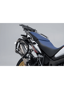 PRO side carriers Black. Honda CRF1000L Africa Twin (15-17).
