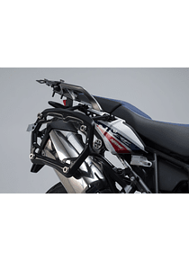PRO side carriers off-road edition Black. Honda CRF1000L Africa Twin (15-17).