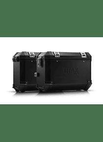 TRAX ION aluminium case system Black. 45/37 l. CRF1000L Africa Twin (15-17).