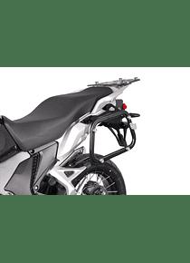 EVO side carriers Black. Honda VFR 1200 X Crosstourer (12-)