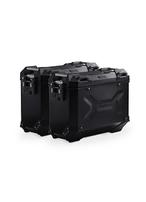TRAX ADV aluminium case system Black. 37/37 l. Honda Crosstourer (11-).
