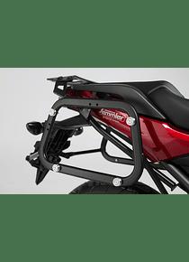 EVO side carriers Black. Honda NC750X / NC750S (16-).
