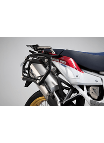 PRO side carriers off-road edition Black. Honda Africa Twin / Adv Sports (18-).