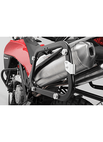EVO side carriers Black. Husqvarna TR 650 Terra / Strada (12-15).