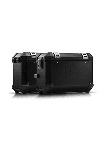 TRAX ION aluminium case system Black. 45/45 l. Husqvarna TR 650 Terra / Strada.