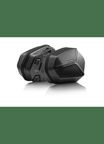 AERO ABS side case system 2x25 l. Suzuki GSF 600 Bandit / S (00-04).