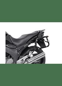 EVO side carriers Black. Yamaha TDM 900 (01-09).