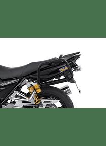EVO side carriers Black. Yamaha XJR 1200 (95-99) XJR 1300 (98-14).
