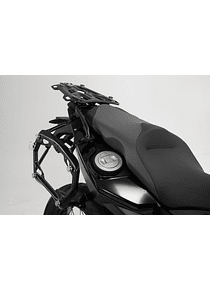 PRO side carriers Black. BMW F 650/700/800 GS.