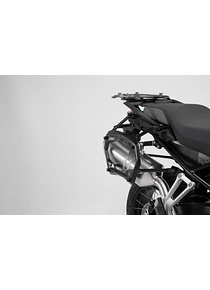 PRO side carriers Black. BMW F 750 GS, F 850 GS/Adv (17-).
