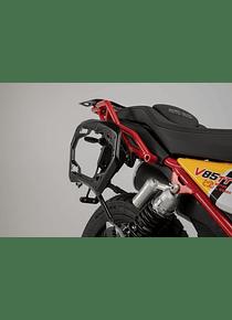 PRO side carriers Black. Moto Guzzi V85 TT (19-).