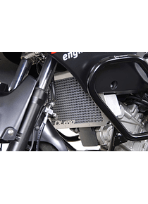 Radiator guard Black. Suzuki DL 650 V-Strom (04-10).