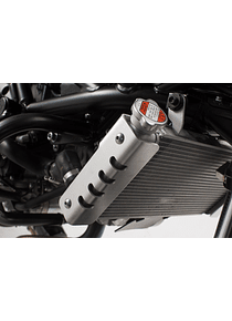 Radiator guard Silver. Suzuki SV650 ABS (15-).