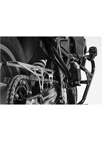 Chain guard Silver. BMW F 650 GS / F 700 GS / F 800 GS.