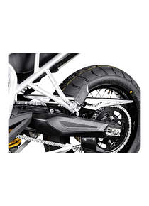 Chain guard Black. Triumph Tiger 800 models (10-).