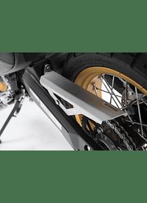 Chain guard Silver. Ducati Scrambler Desert Sled (16-).