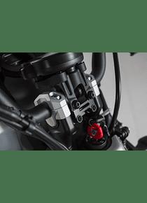Bar riser H=20 mm. Black. Yamaha XSR700 (15-).