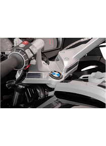 Bar riser H=25 mm. Silver. BMW R 1200 RT (05-13).