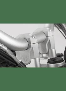 Bar riser H=40 mm. Silver. BMW R1200GS LC / Adv. (13-).