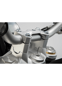 Bar riser H=30 mm. Silver. BMW F 850 GS (18-).