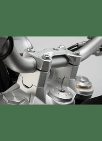Bar riser H=30 mm. Silver. BMW F 750 GS (17-).