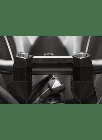 Bar riser H=20 mm. Black. Kawasaki Z 800 (12-).