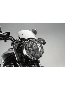 Headlight guard Grille. Black. Suzuki SV650 ABS (15-).