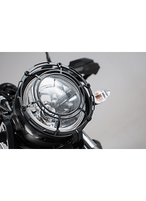 Headlight guard Grille. Black. Yamaha XSR700 (15-).