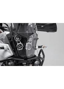 Headlight guard Bracket with PVC panel. Yamaha Tenere 700 (19-).