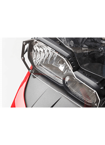 Headlight guard Bracket with PVC panel. BMW F700GS/F800GS (12-).