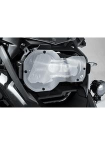 Headlight guard Bracket with PVC panel. BMW R1200GS, R1250GS.