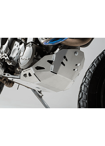 Engine guard Silver. KTM 620 Adventure (96-99).