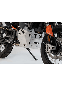 Engine guard Silver. KTM 790 Adventure / R (19-).