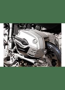 Cylinder guard Silver. BMW R1200 R/ ST/ GS/ Adventure.