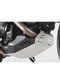 Engine guard Black/Silver. Ducati Hyperstrada / Hypermotard.