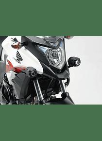 Light mounts Black. Honda CB500X (13-18).